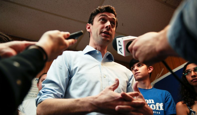 Democrat Jon Ossoff to Challenge Perdue for Georgia Senate Seat