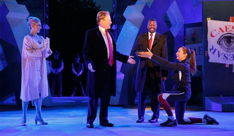 """Trump   """"Julius Caesar"""" Shakespeare in the Park -- Left s Trump ... 14ebad0b374a"""