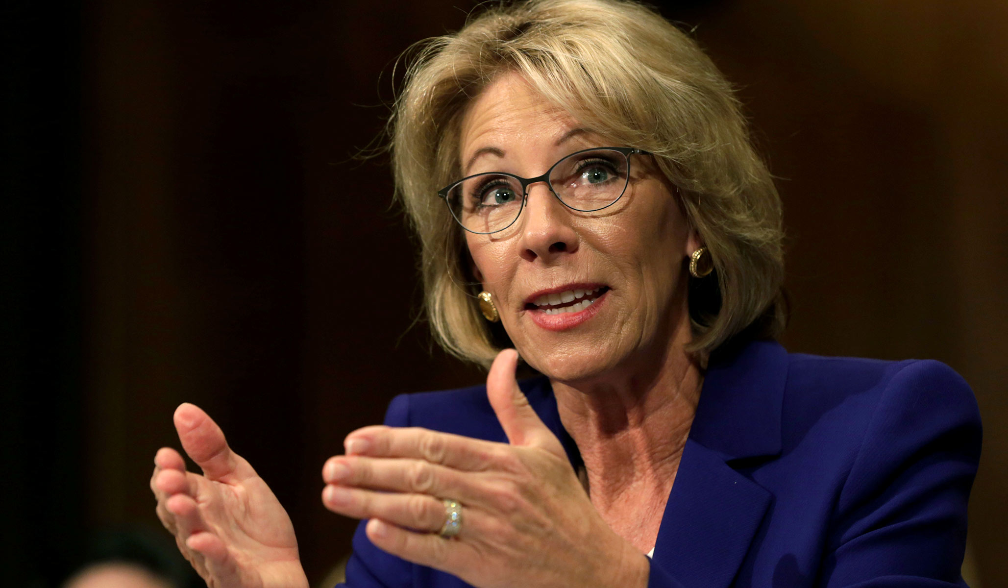 Betsy Devos Is Wrong About >> Betsy Devos Campus Sexual Assault End Kangaroo Courts