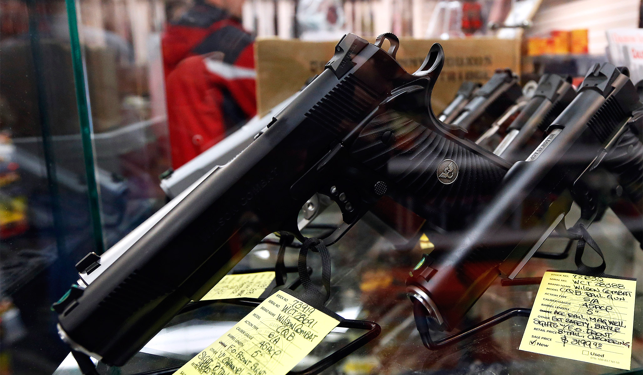 New Bill Would Get Financial Institutions Involved in Gun Control