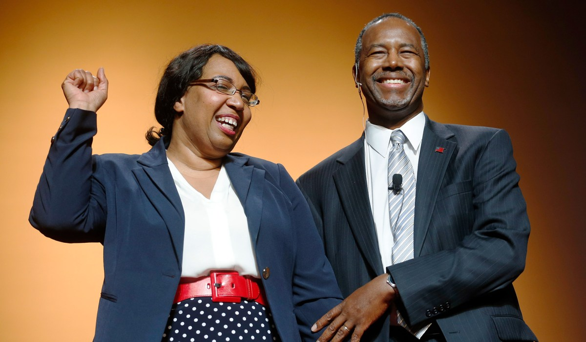 Ben Carson Wife To Blame For 31 000 Dining Set Purchase