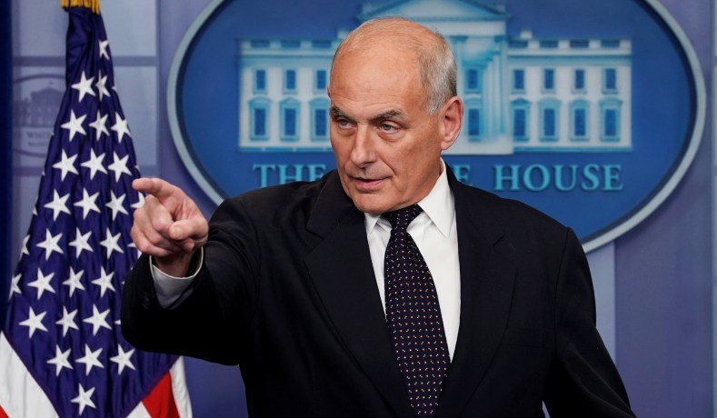 Image result for White House Chief of Staff John Kelly