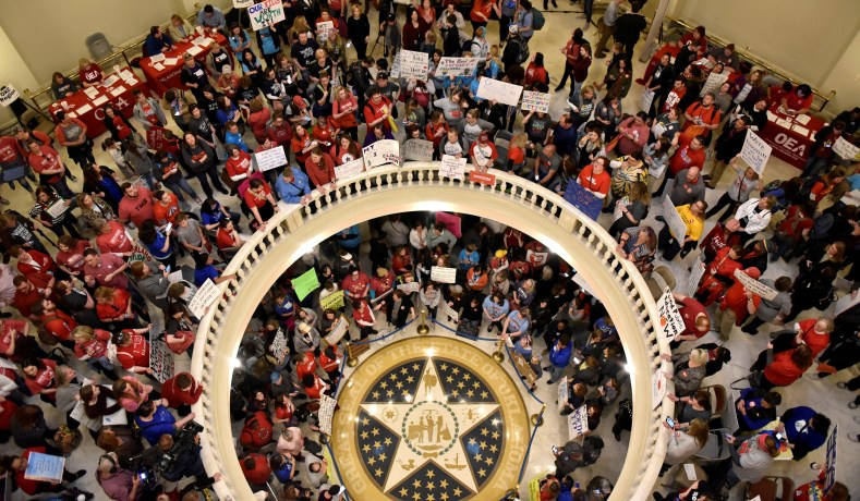 Oklahomas Teachers Education Funding Issues National Review