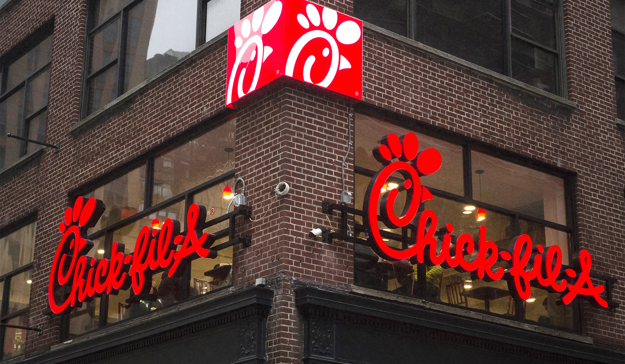 Chick-fil-A Protestors in Canada Role Play as Freedom Riders