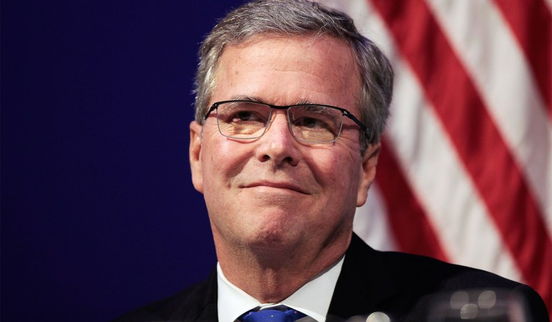 a podcast with jeb bush hosted by jay nordlinger