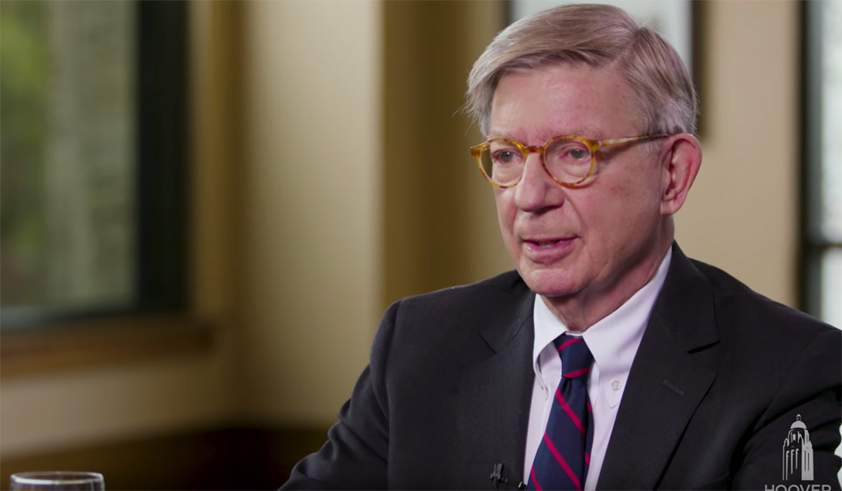 george will baseball politics uncommon knowledge with peter