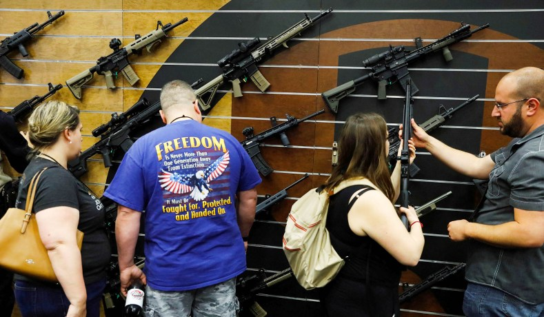 On Gun Control, Once More from the Top