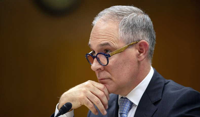 scott pruitt should step down from epa national review