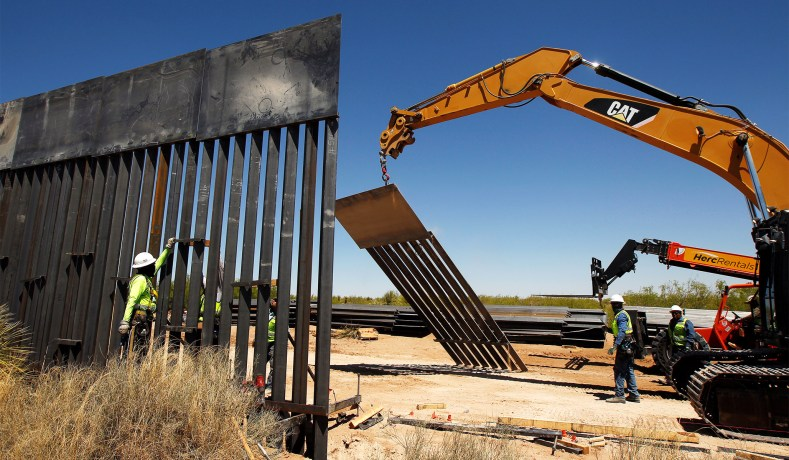 Wall Is Being Built, Mile by Mile, Slowly | National Review