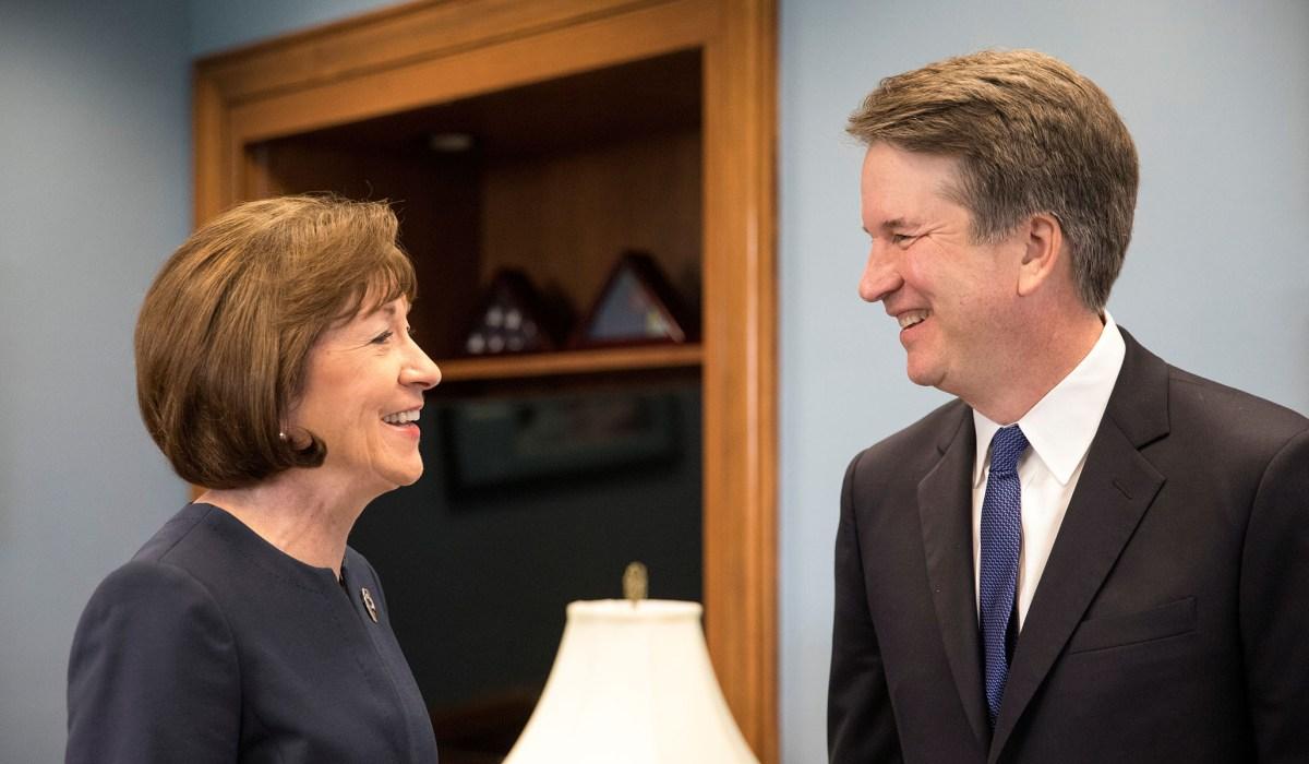 Susan Collins: Brett Kavanaugh 'Roe v. Wade' is 'Settled ...