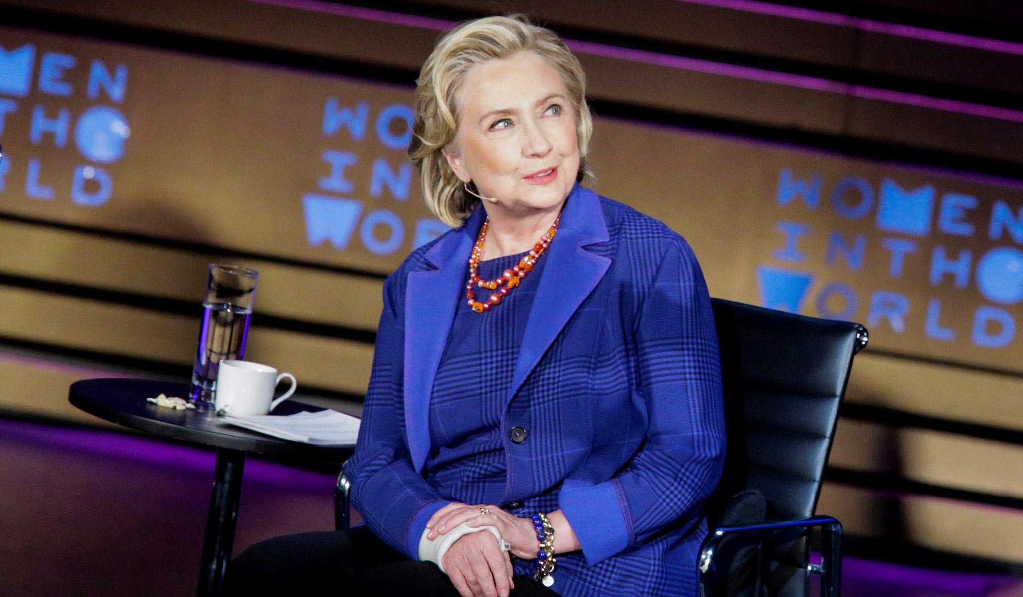 Hillary Clinton Slams 'Authoritarian' and 'Trumpian' Zuckerberg over Facebook's Speech Stance