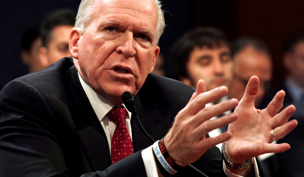 John Brennan Says Biden Admin. 'Moving in Laser-Like Fashion' against Pro-Trump 'Insurgency' | National Review