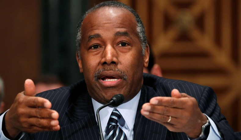 Ben Carson Takes on High Housing Costs