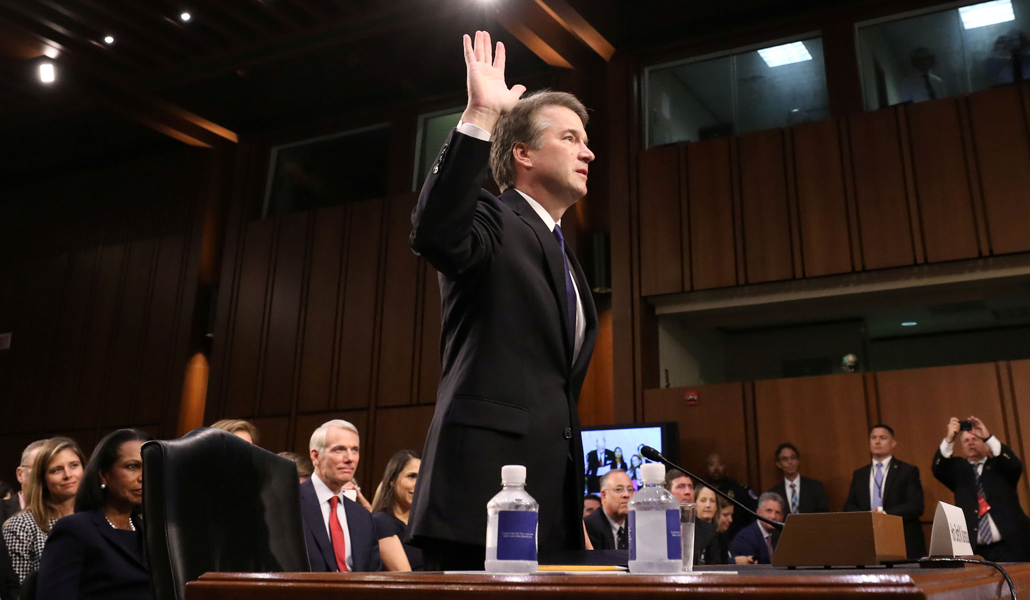 Christine Blasey Ford Must Agree to Testify
