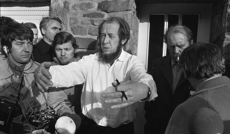 Solzhenitsyn in Exile