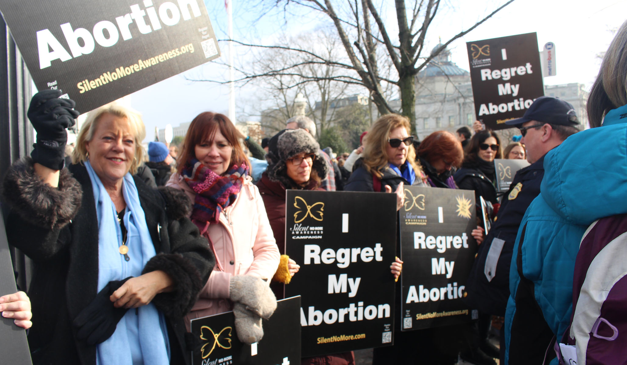 March for Life 2019 -- Women Regret Their Abortions Publicly