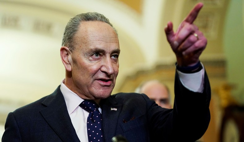 Schumer and Casey Eat Their Own