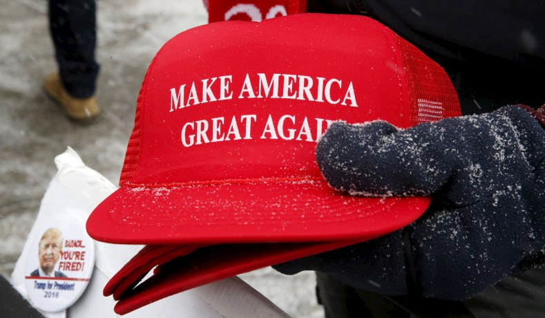 89feac182c2 Covington Catholic   President Trump -- MAGA Hats and Double ...