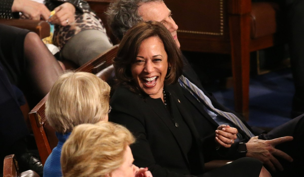 photo image Kamala Harris Backs Marijuana Legalization: 'We Need More Joy'