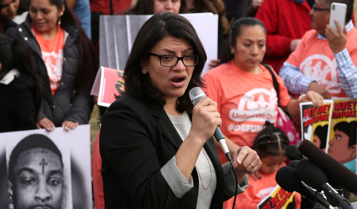 Report: Tlaib Once Wrote Op-Ed for Anti-Semitic Farrakhan Outlet | National Review