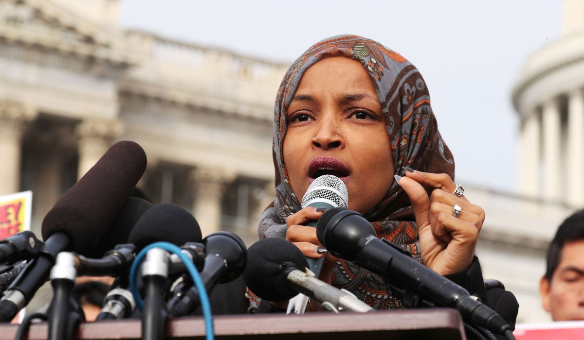 photo image Dem. Leaders Demand Omar Apologize for Endorsing 'Anti-Semitic Tropes'