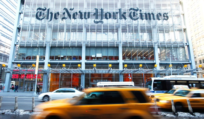 <i>New York Times</i> Defends Star Journalist Who Doxxed <i>Free Beacon</i> Reporter on Twitter thumbnail