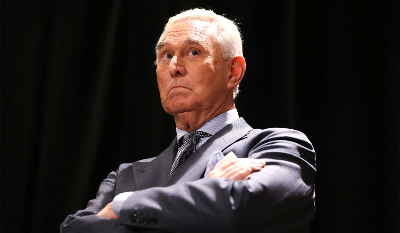 Roger Stone's Indictment Provides No Evidence of Collusion