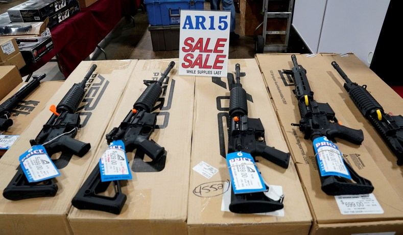 Poll: Majority Backs Banning Assault-Style Rifles, Opposes