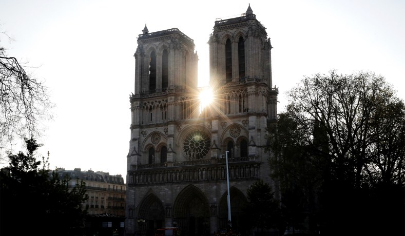Notre Dame Cathedral Fire Religion S Decline In West National