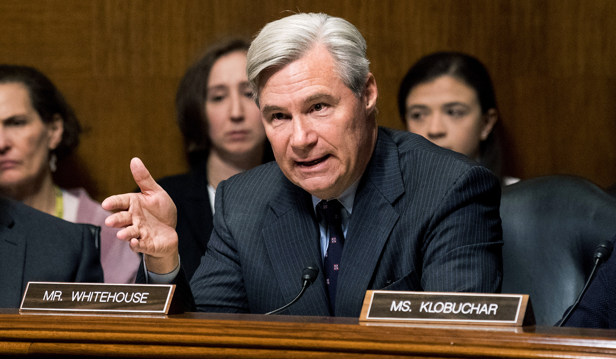 Sheldon Whitehouse, the Democrats' Conspiracy Theorist and Hatchet Man against the Rule of Law thumbnail