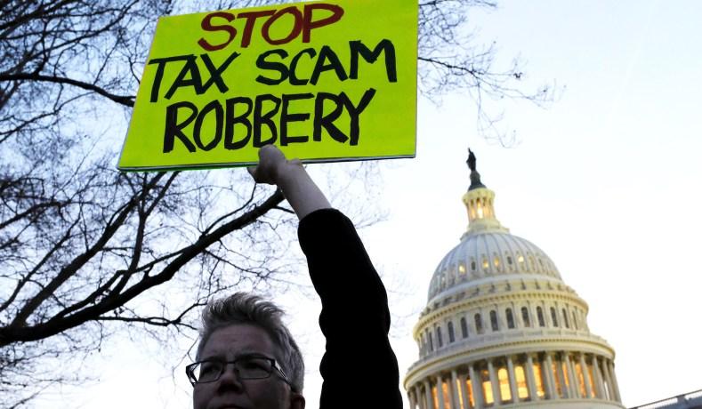 Tax the Rich' and 'Pay Their Fair Share' Demands