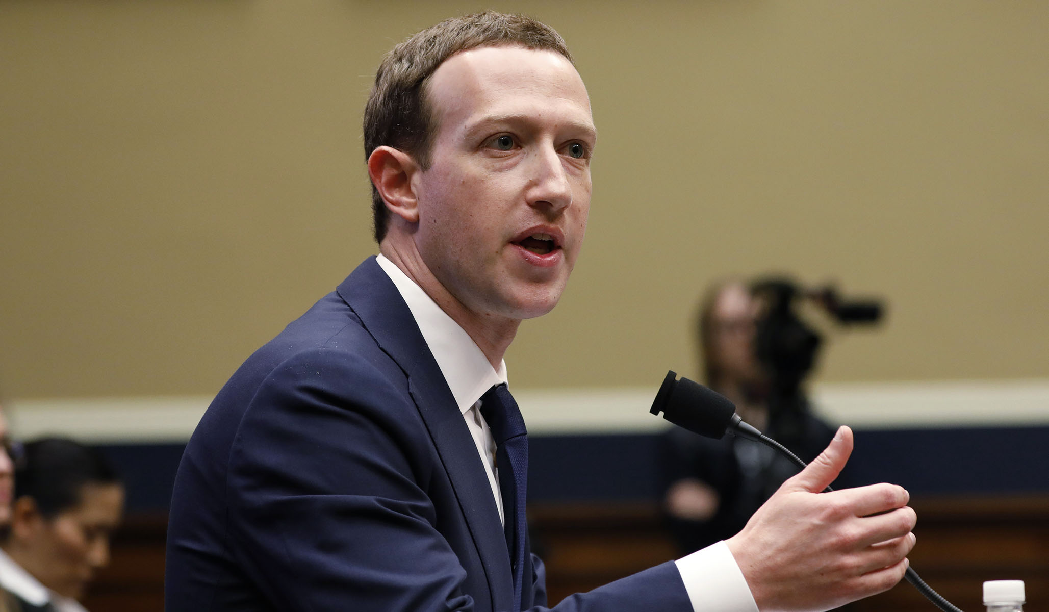 Zuckerberg Calls Elizabeth Warren an 'Existential' Threat to Facebook in Leaked Audio