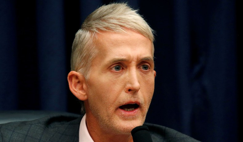 Gowdy Claims FBI Relied on Clinton Ally Blumenthal to Corroborate Steele Dossier
