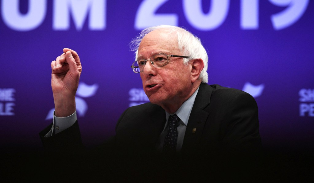 photo image Sanders to Propose Moratorium on Public Funding Of Charter Schools