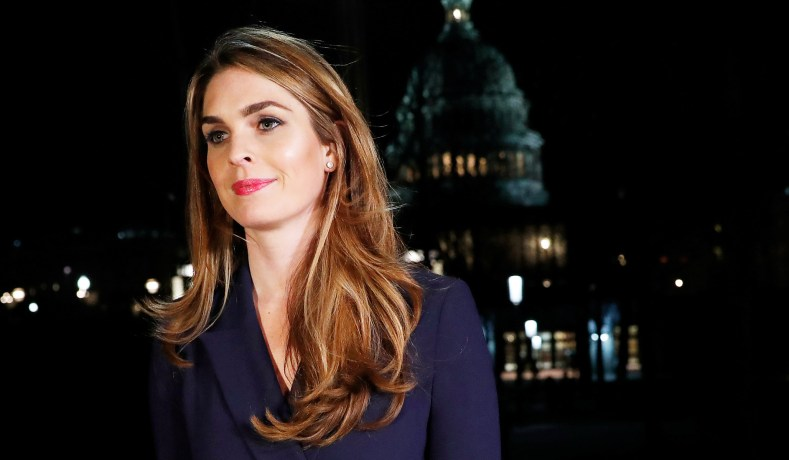 House Judiciary Committee Subpoenas Hope Hicks and McGahn Aide