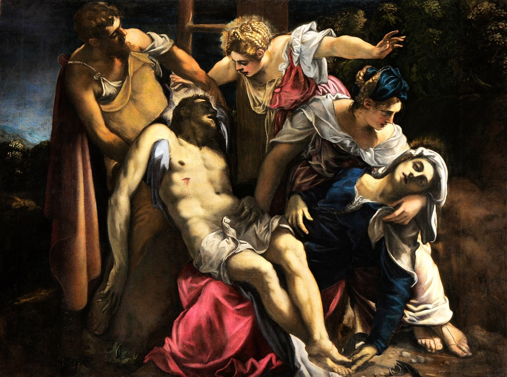 photo image Tintoretto's Symbolic Imagination