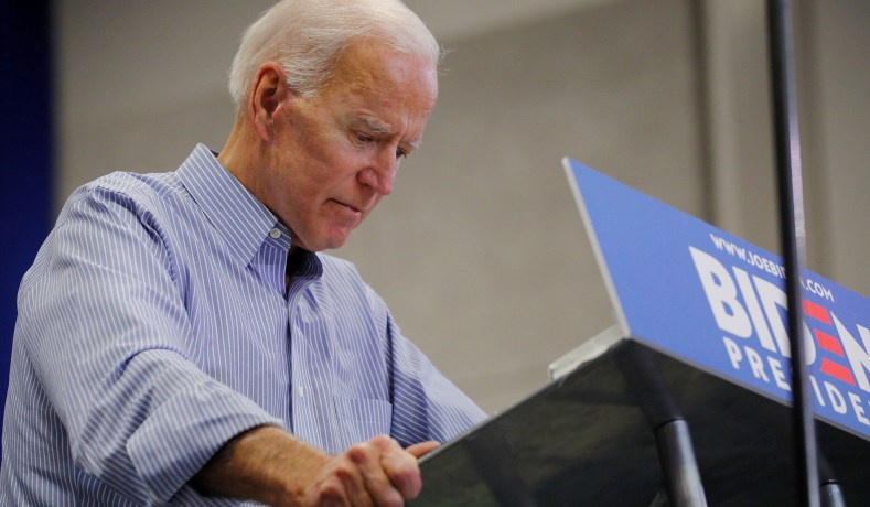 752ac07b9 Former Vice President Joe Biden in Manchester, N.H., May 13, 2019. (Brian  Snyder/Reuters)