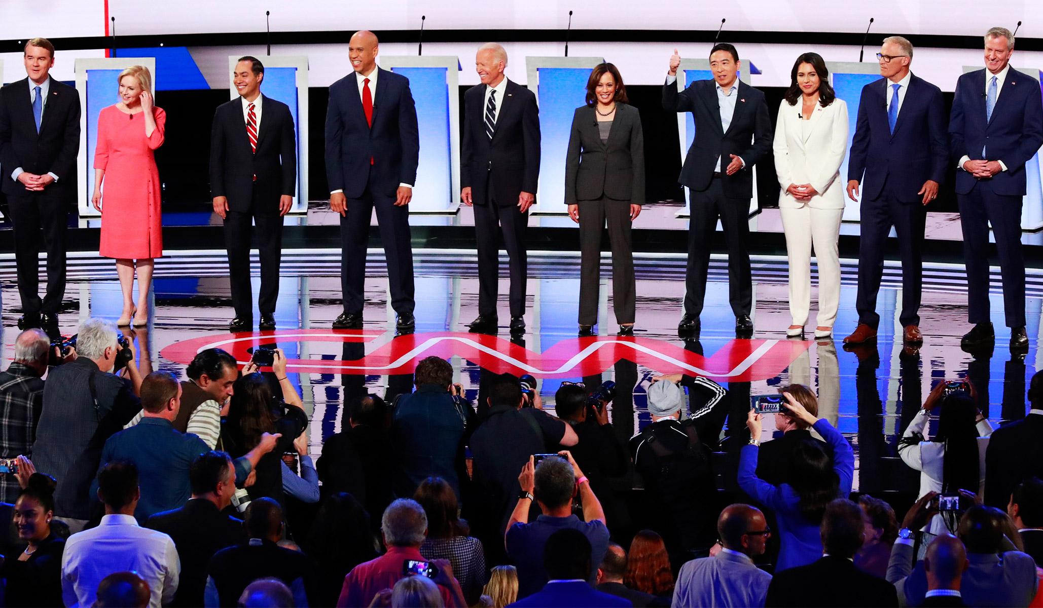Image result for democratic debates
