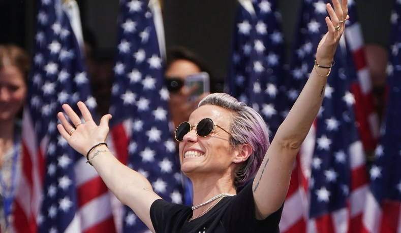 Megan Rapinoe, the White House, and Trump's Inability to Stick to the Script