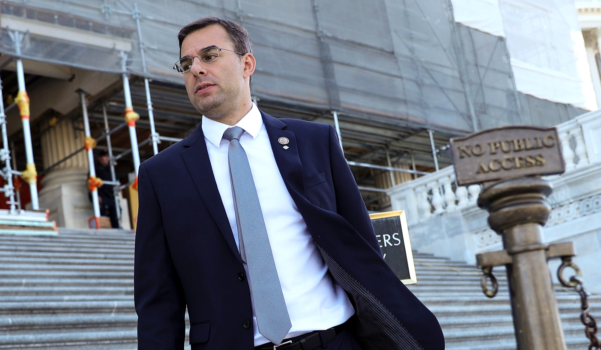 Former Republican Amash Announces He'll Vote Yes on Three Articles of Impeachment
