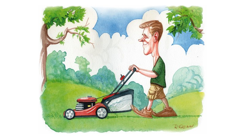 Mow Your Own Lawn, Man
