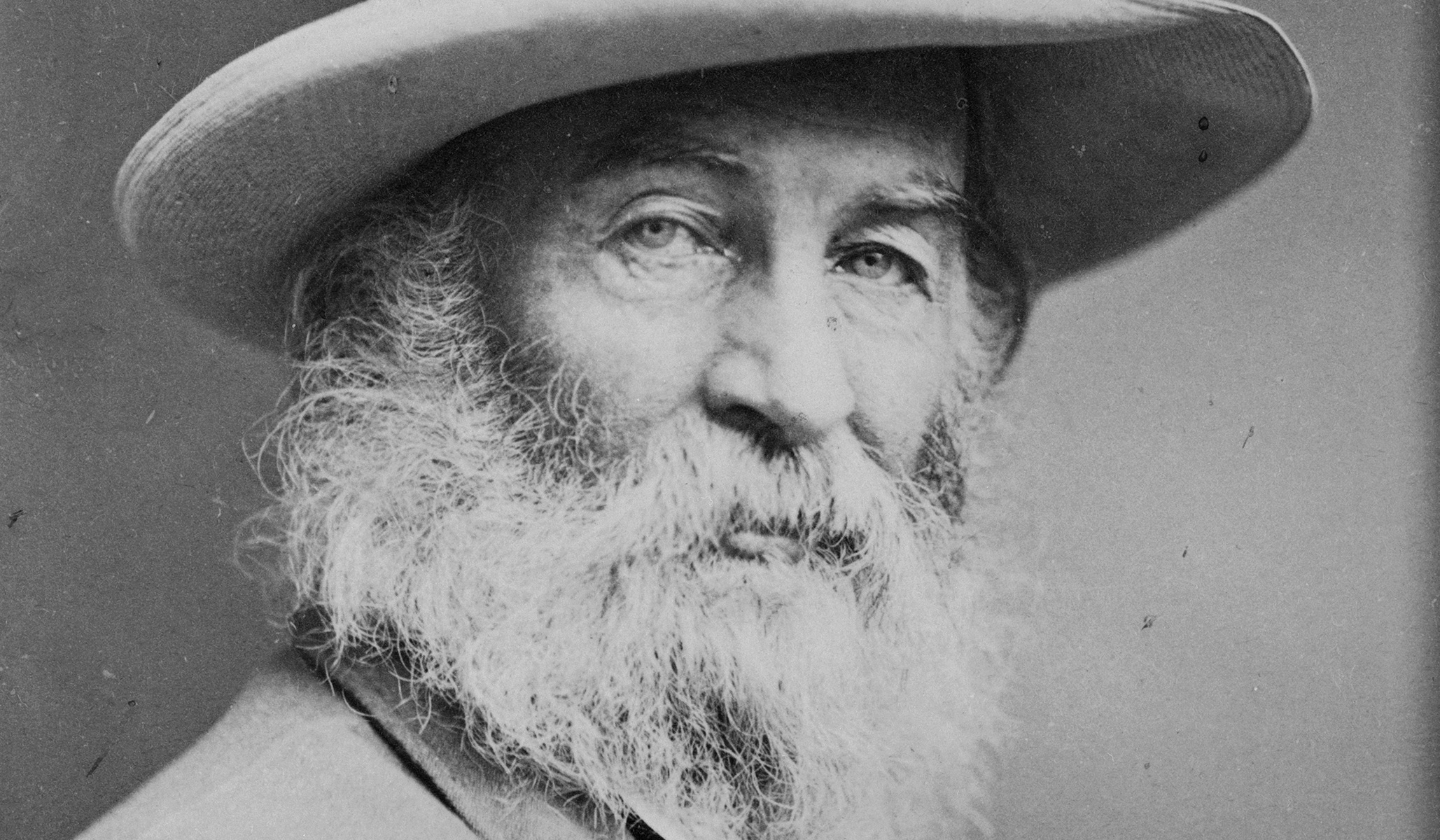Walt Whitman, an American