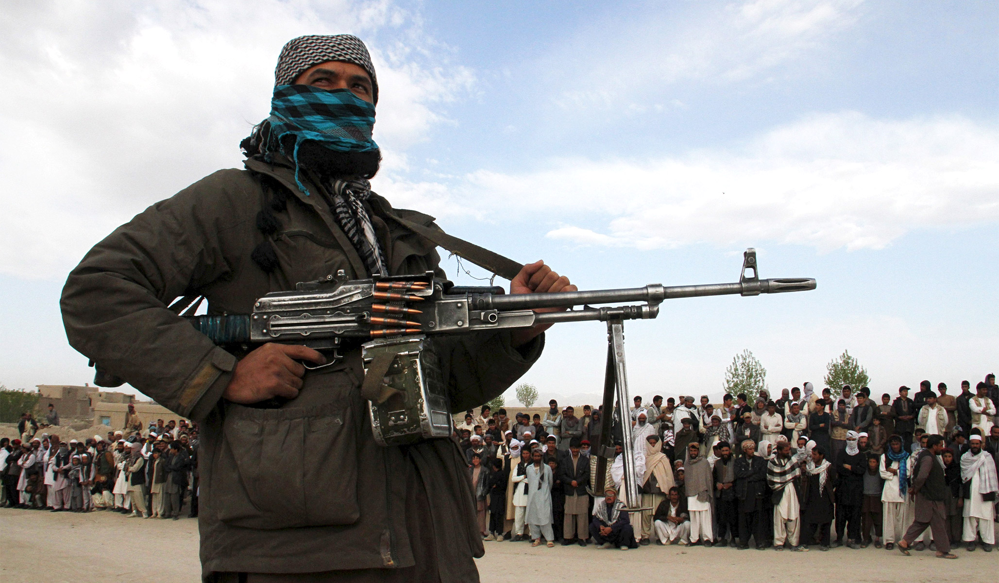 Taliban Terrorists Have No Place at Camp David