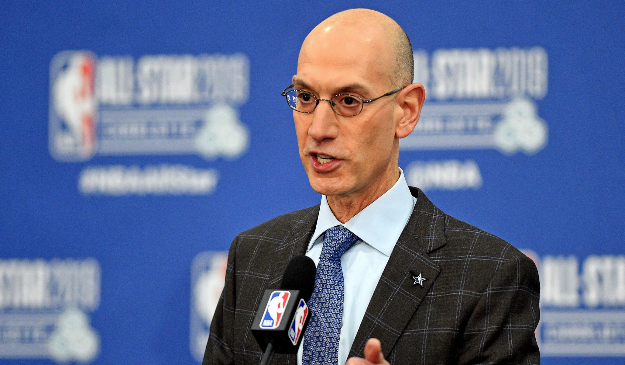 The NBA's Adam Silver on China: 'We Have No Choice but to Engage'
