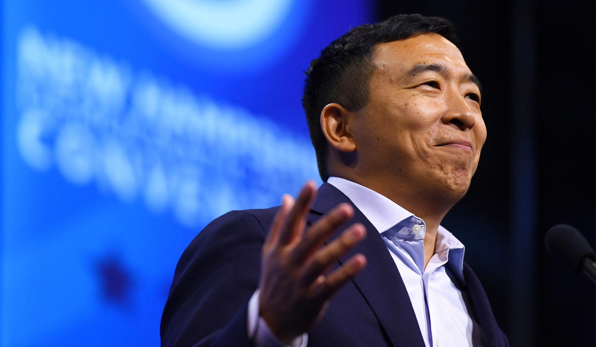 Andrew Yang, Snake Oil Salesman