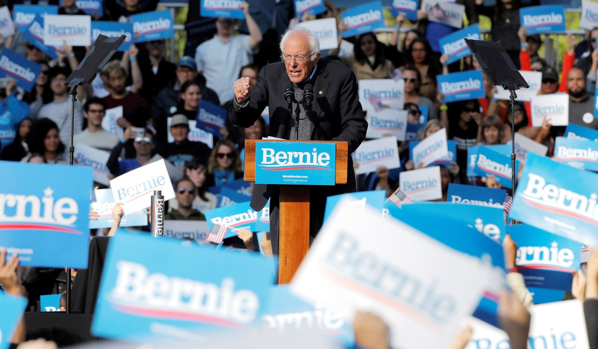 Bernie's Big, Bolshie, Biden-Boosting Bash