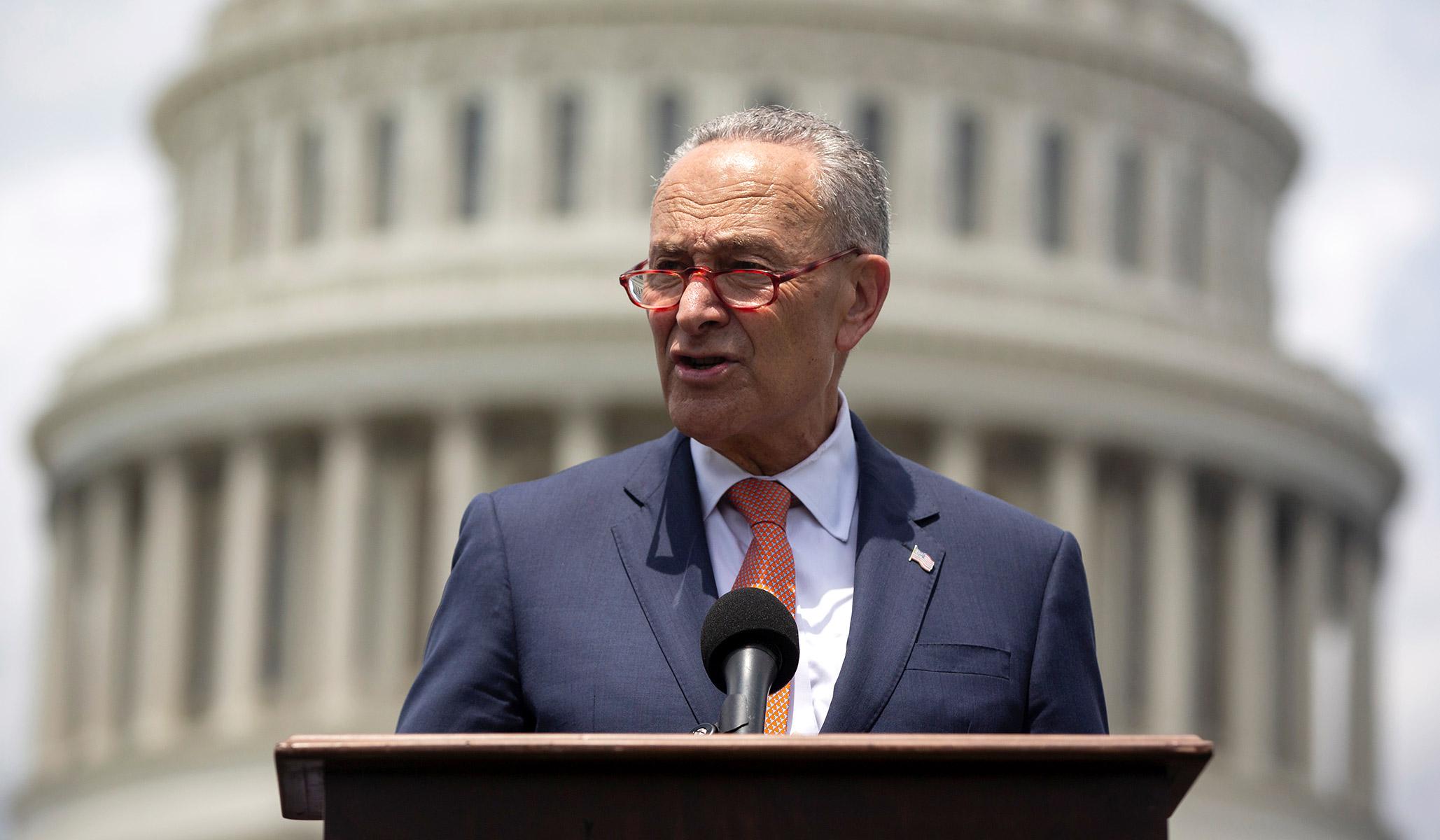 Chuck Schumer's 'Windowless Basement' Strategy for Winning Back the Senate