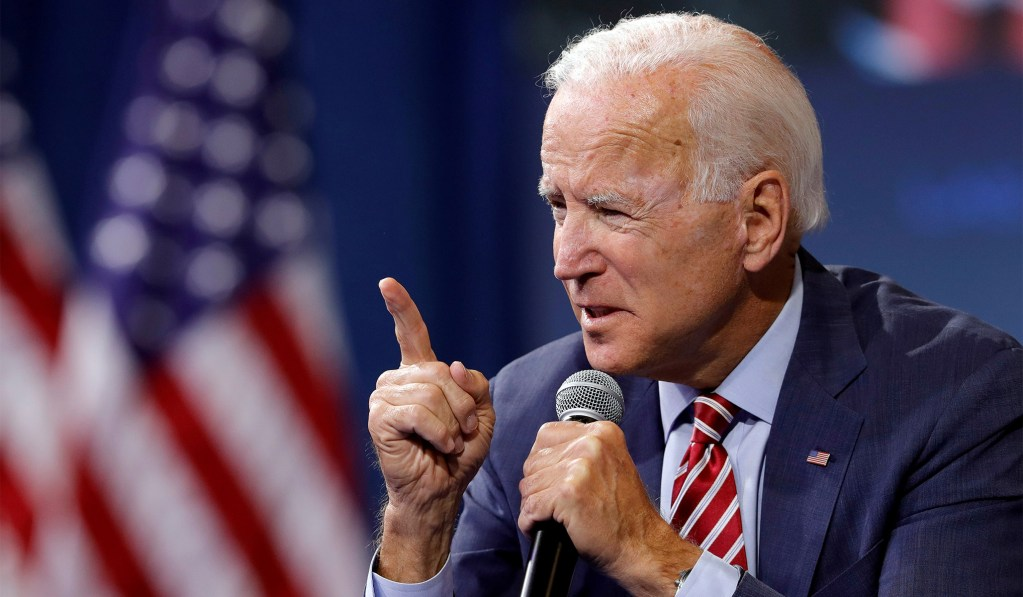 photo image Biden: Trump 'Should Be Impeached'