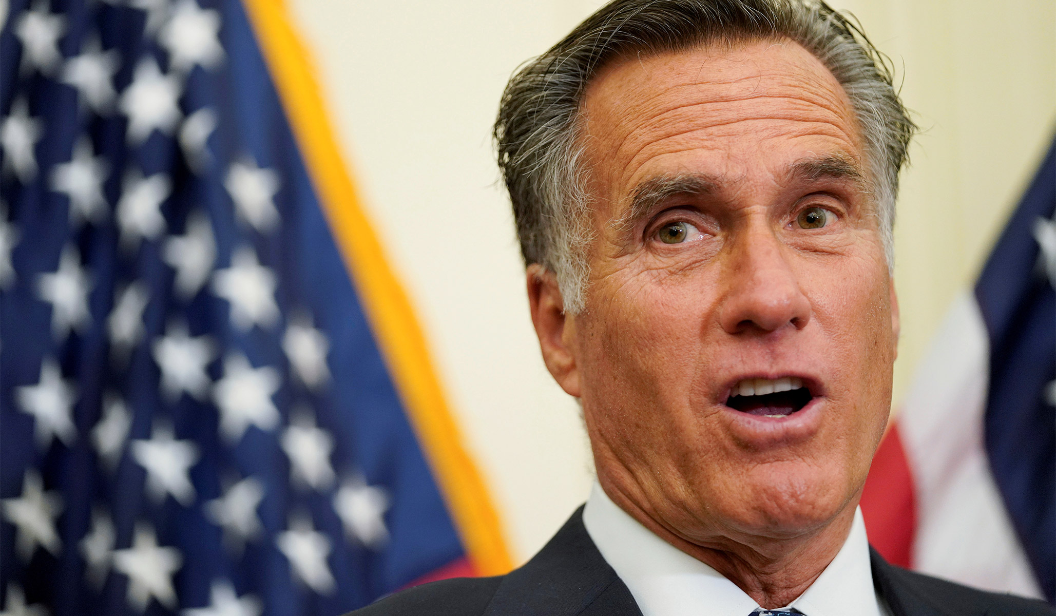 Romney Blames Trump Admin. for Syria Chaos: 'This Is Not a Surprise'