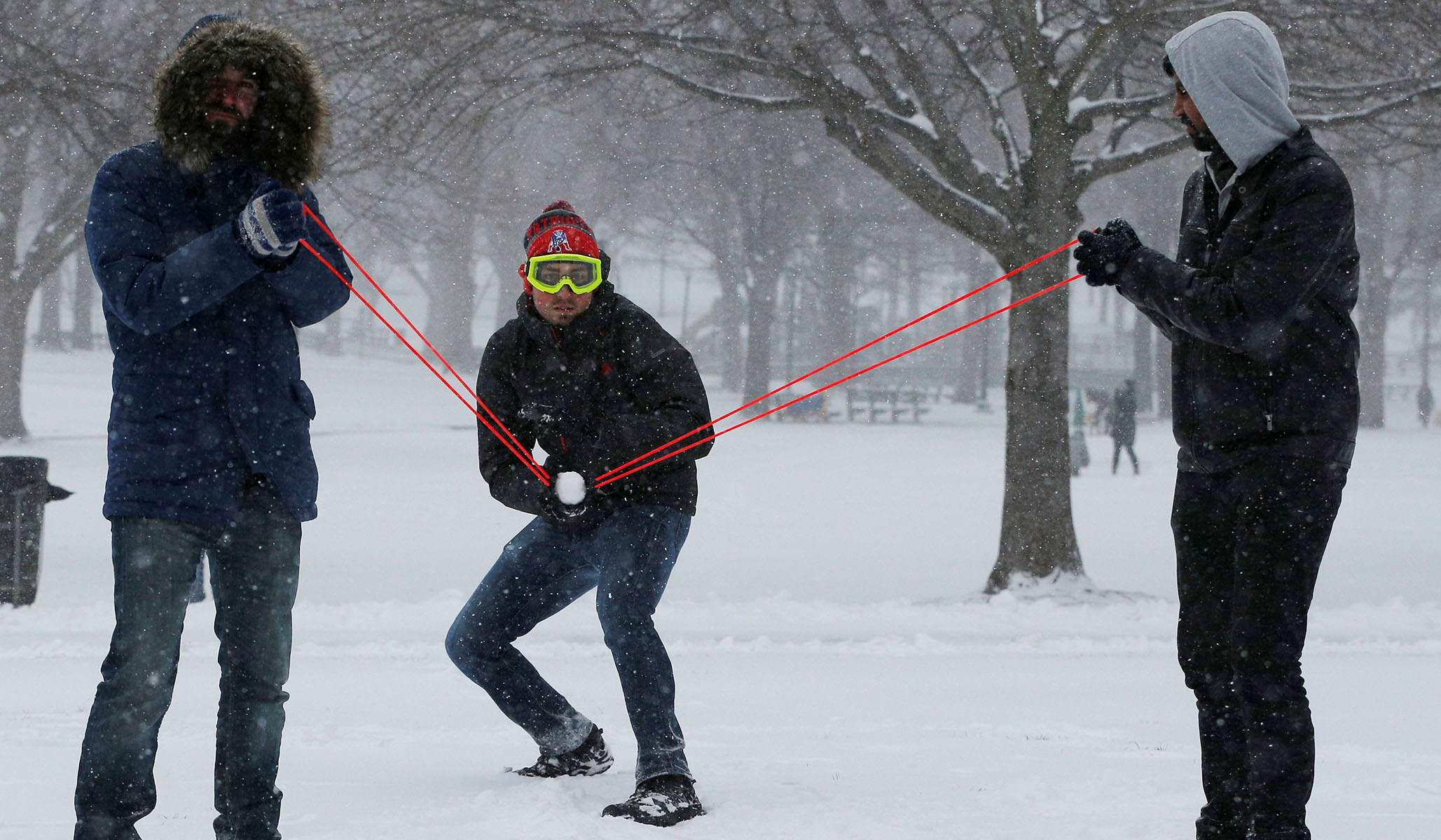 A Wisconsin City Bans Throwing Snowballs on Public Property — and That's Stupid